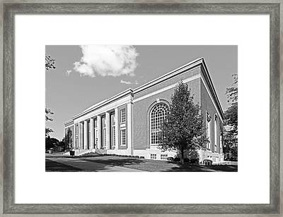 Coe College Stewart Memorial Library Framed Print by University Icons