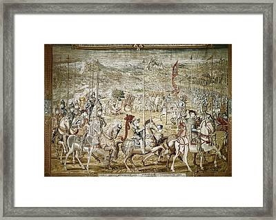 Coecke Van Aelst, Pieter  1502-1550 Framed Print
