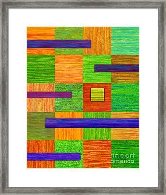 Coexist Framed Print by David K Small