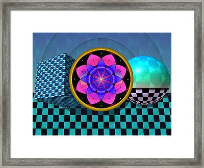 Coexist Framed Print