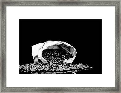 Coffe In Bag Framed Print by Tommytechno Sweden