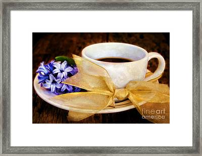 Coffee 4 One Framed Print by Darren Fisher