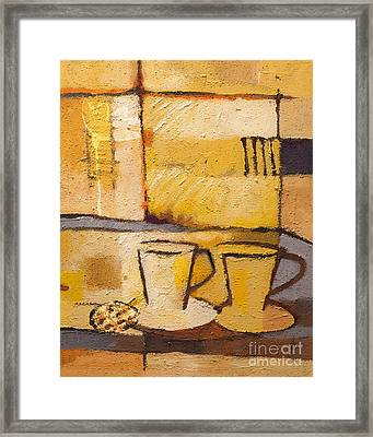 Coffee And Bisquit Framed Print by Lutz Baar
