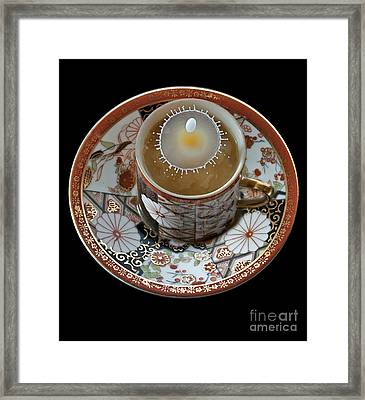Coffee And Cream Framed Print