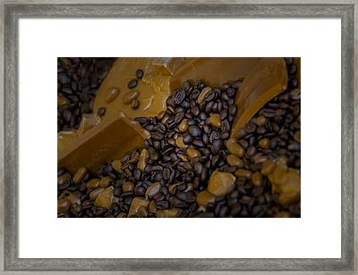 Coffee And Dessert Framed Print