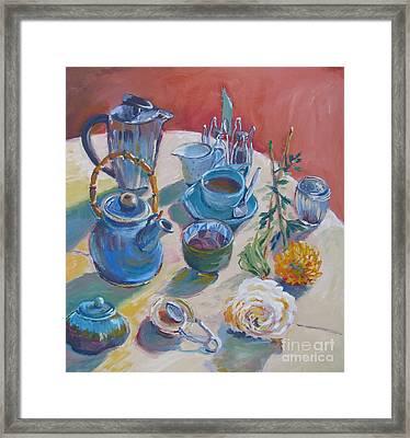 Coffee And Tea Framed Print