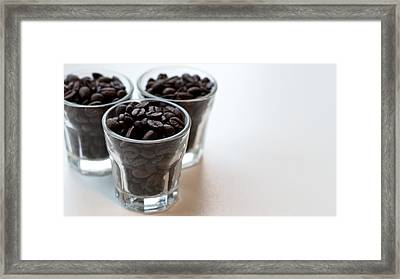 Coffee Beans Framed Print by Gavin Lewis