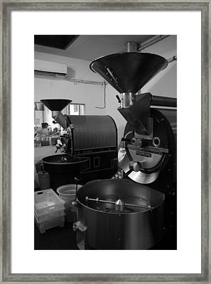 Coffee Being Framed Print by Maeve O Connell