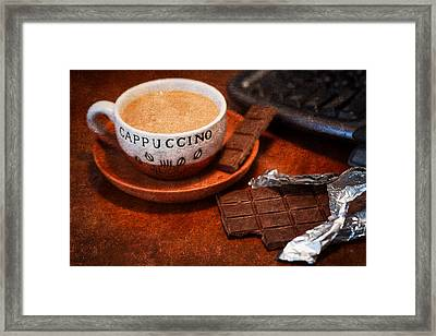 Coffee Break Framed Print by Alexander Senin