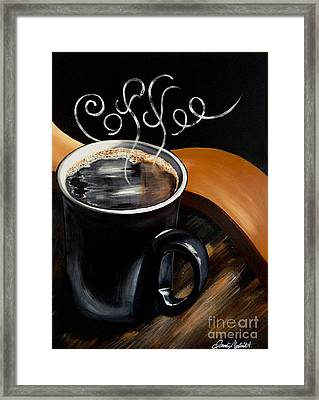 Coffee Break Framed Print by Dani Abbott