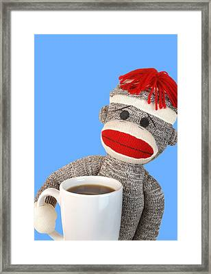 Coffee Break Framed Print