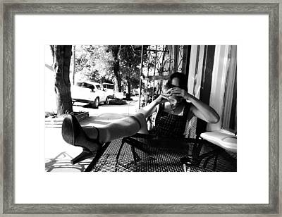 Coffee Break New Orleans Style Framed Print