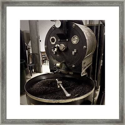 #coffee #coffeebeans #beans #roaster Framed Print