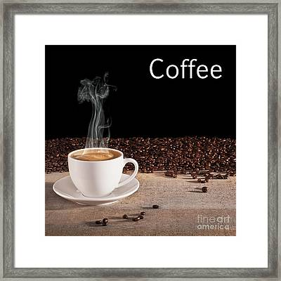 Coffee Concept Framed Print by Colin and Linda McKie