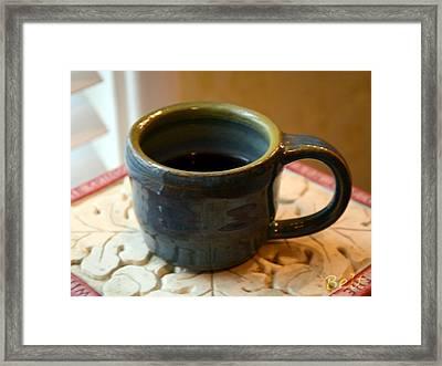 Coffee Connoisseur No.5 Framed Print by Christine Belt
