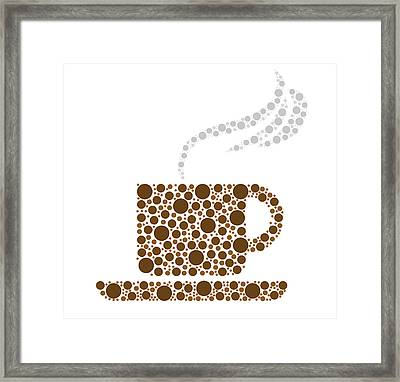 Coffee Cup Framed Print by Aged Pixel