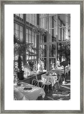 Framed Print featuring the photograph Coffee House by Juergen Klust