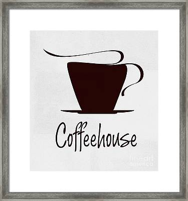 Coffee House Framed Print by T Lang