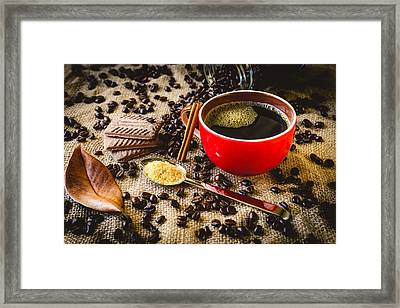 Coffee I Framed Print by Marco Oliveira
