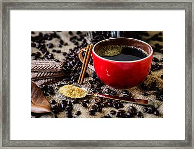 Coffee II Framed Print by Marco Oliveira
