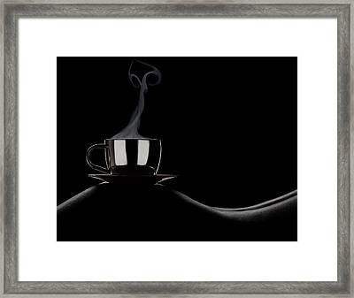 Coffee In Bed Framed Print