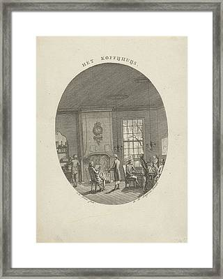 Coffee, Jan Evert Grave, Dirk Meland Langeveld Framed Print