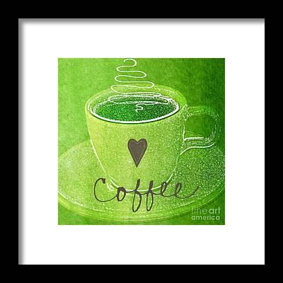 Caffeine Framed Prints