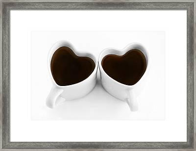 Coffee Lovers Framed Print by Dan Holm