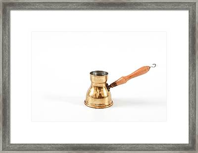 Coffee Maker Framed Print by Tom Gowanlock