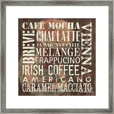 Coffee Of The Day 1 Framed Print by Debbie DeWitt