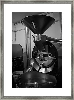 Coffee Roaster Framed Print by Maeve O Connell