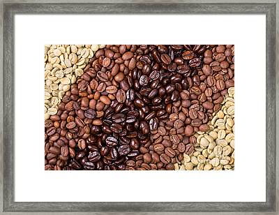 Coffee Selection Framed Print