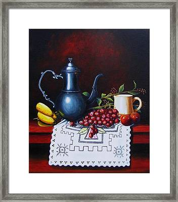 Coffee Time Framed Print by Gene Gregory
