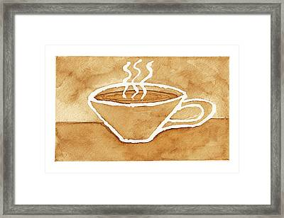 Coffee Framed Print by Tricia Griffith