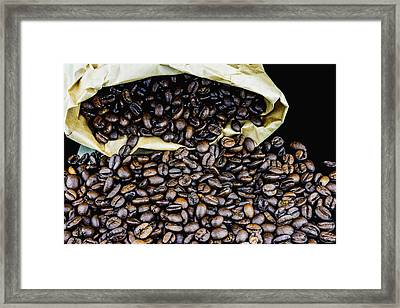Coffee Unmilled  Framed Print