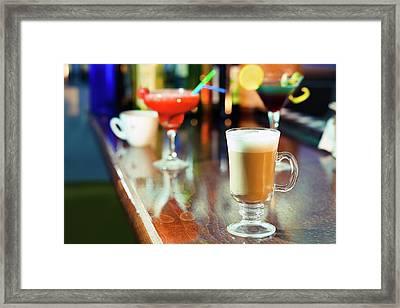 Coffee Framed Print by Wladimir Bulgar