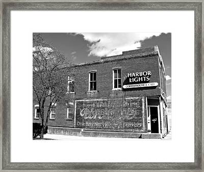 Coffeehouse  Framed Print by Chris Berry