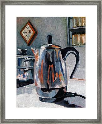Coffeepot Framed Print