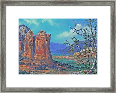 Coffeepot Rock  Framed Print