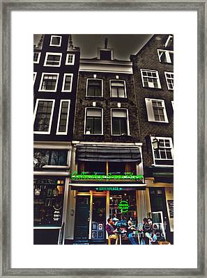 Coffee Shop Amsterdam Framed Print