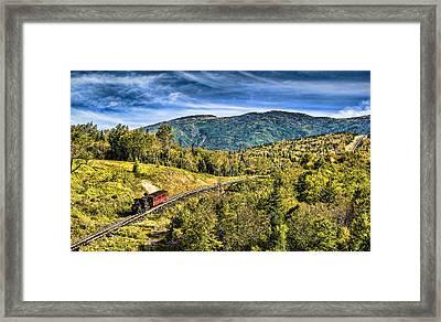 Cog At Mt. Washington Framed Print