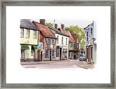 Coggeshall Framed Print