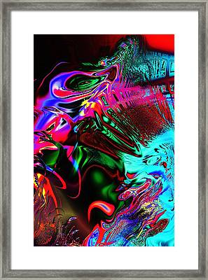 Cognitive Breakdown Framed Print by Anastasiya Malakhova