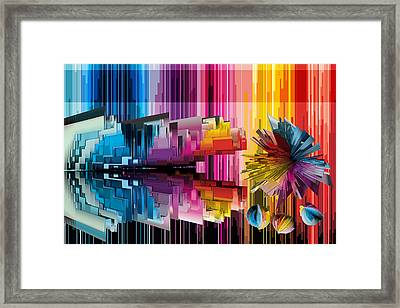Cognitive Dissonance 1 Framed Print by Angelina Vick