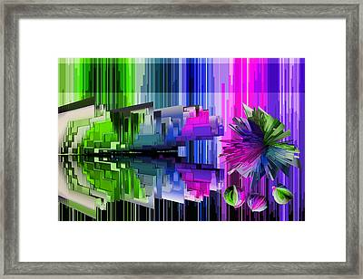 Cognitive Dissonance 2 Framed Print