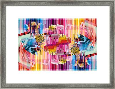 Cognitive Dissonance 4 Framed Print by Angelina Vick