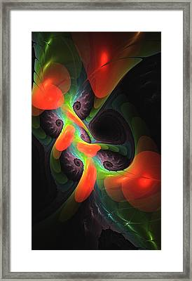 Cognitive Malfunction Framed Print