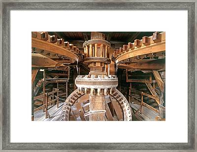 Cogs And Gears Framed Print