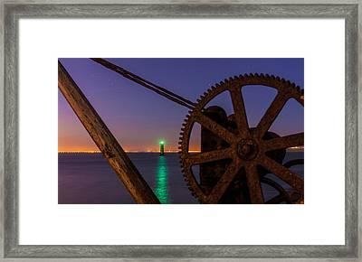 Cogwheel Framing Framed Print by Semmick Photo