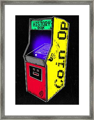 Coin Op - History Box Framed Print